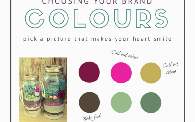 My simple tip to selecting your Brand Colours