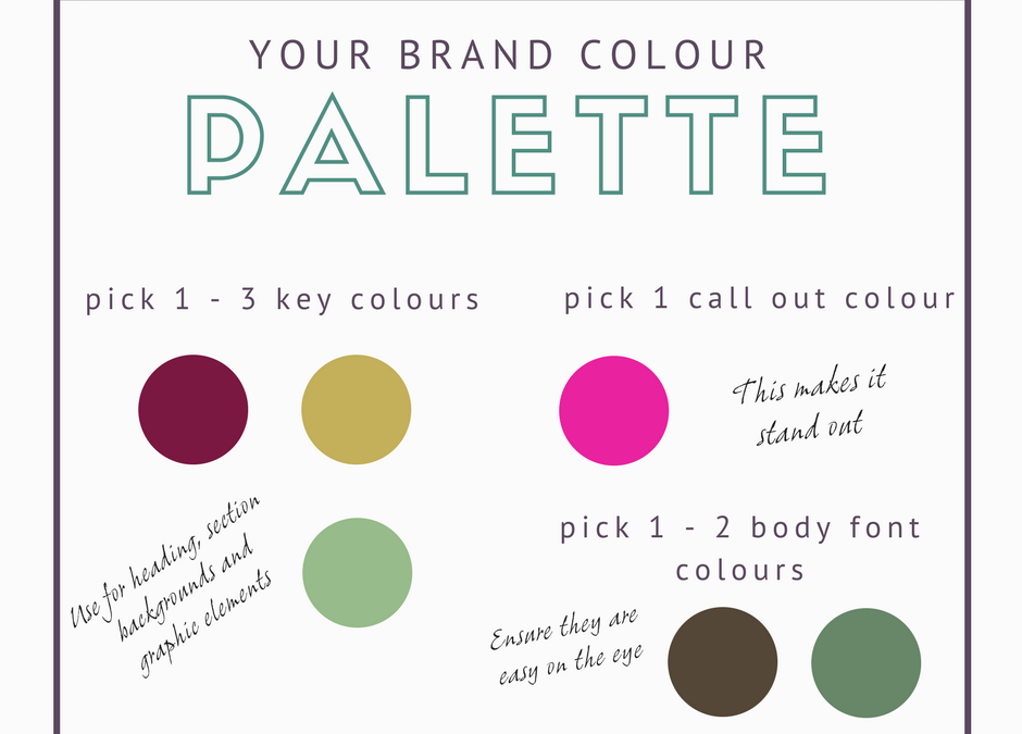 Creating a Colour Palette for your Brand