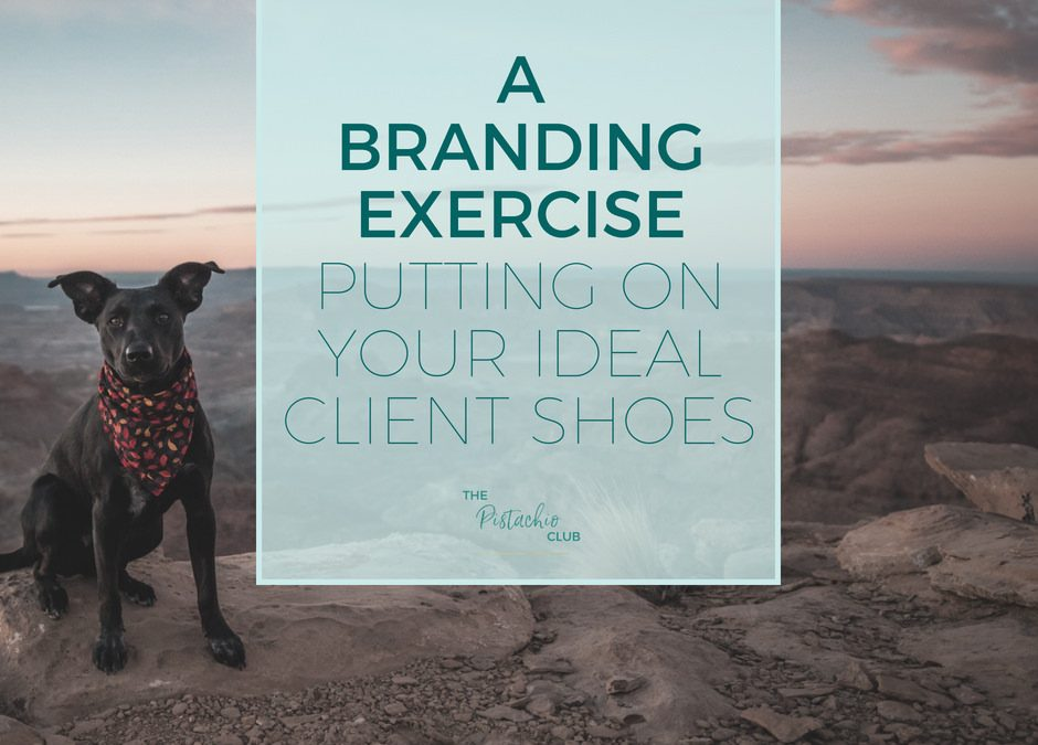A Branding Exercise : Putting on your ideal client shoes