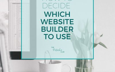 How to decide which website builder to use