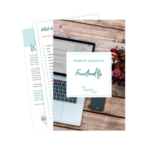 The Pistachio Club Website Checklist Functionality