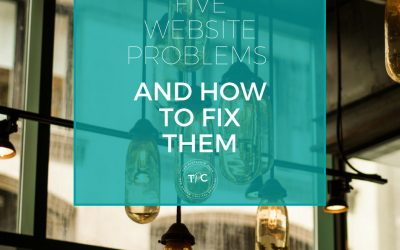 Five website problems, and how to fix them