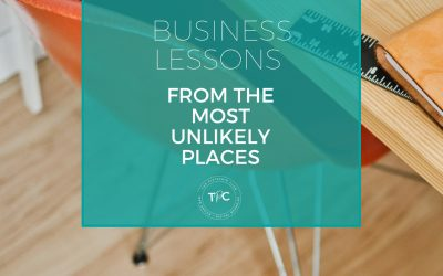 Business Lesson from the most unlikely places