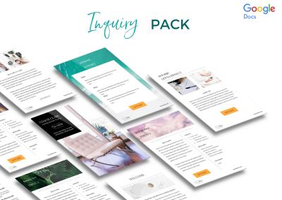 Classic Inquiry Pack Etsy screenshot 1