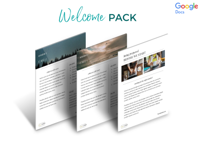 Classic Welcome Pack Etsy screenshot 3
