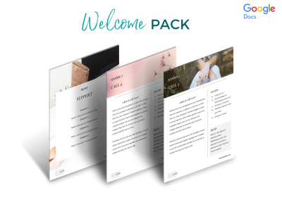 Classic Welcome Pack Etsy screenshot 4