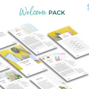 Modern Welcome Pack for Coaches