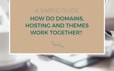 How do Domains, Hosting and Themes work together? A simple guide.