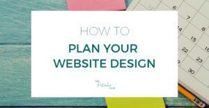Plan Your Website Design