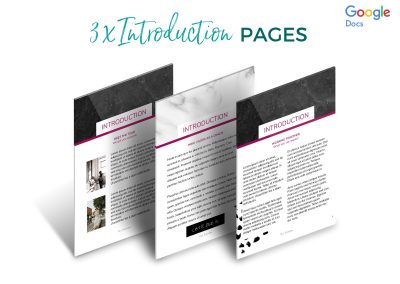 Modern Services & Pricing Pack Etsy 2