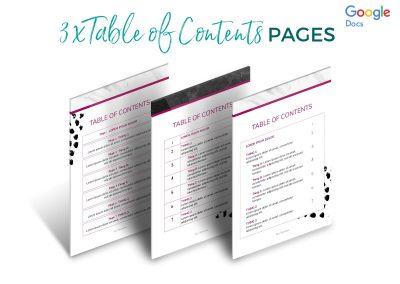 Modern Services & Pricing Pack Etsy 3