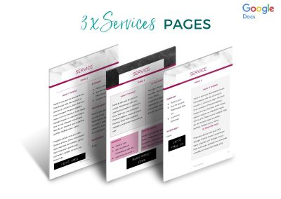 Modern Services & Pricing Pack Etsy 5