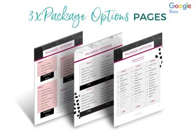 Modern Services & Pricing Pack Etsy 6