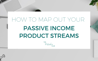 How to map out your passive income product streams
