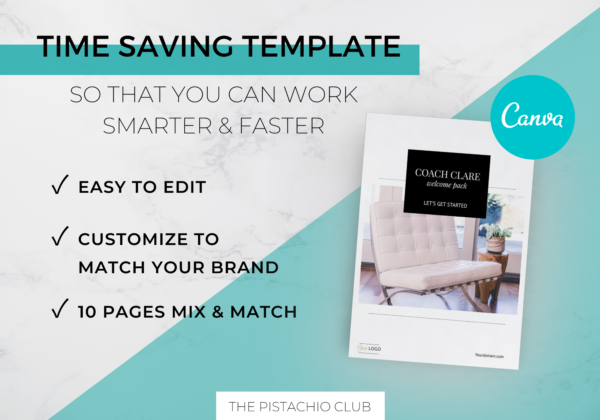 Welcome Pack For Coaches   Classic   Canva Template 2