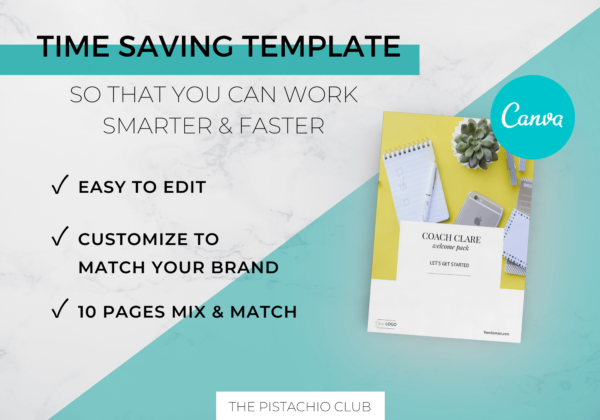 Welcome Pack For Coaches - Modern - Canva Template 2