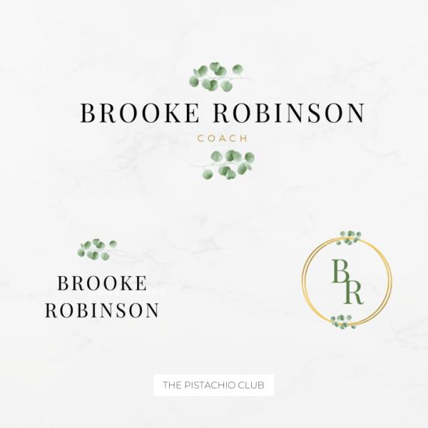 Brooke Robinson Brand Board Pre designed Branding TPC 7