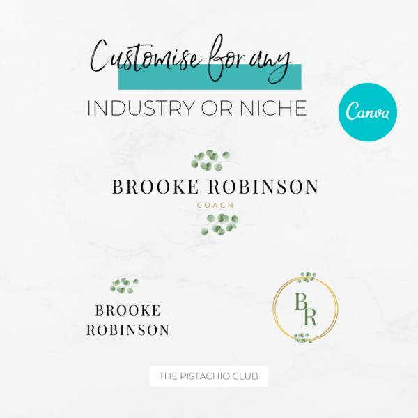 Brooke Robinson Logo Set Pre designed Branding TPC 5