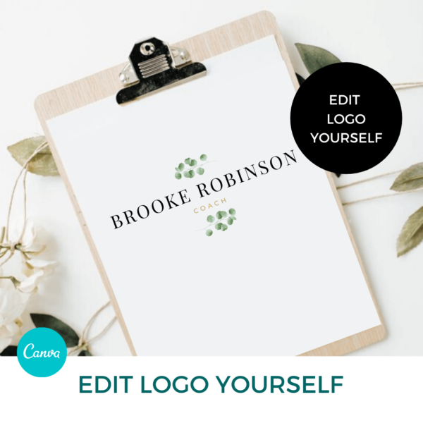 Brooke Robinson Main Logo Pre designed Branding TPC 1