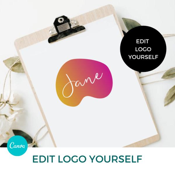 Jane London Logo Set Pre designed Branding TPC 3
