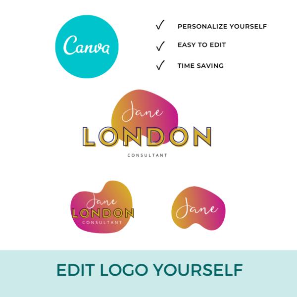 Jane London Logo Set Pre designed Branding TPC 6