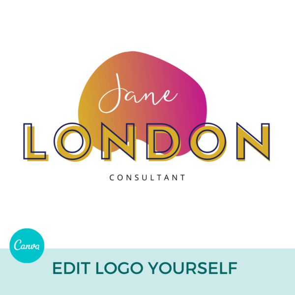 Jane London Main Logo Pre designed Branding TPC 2