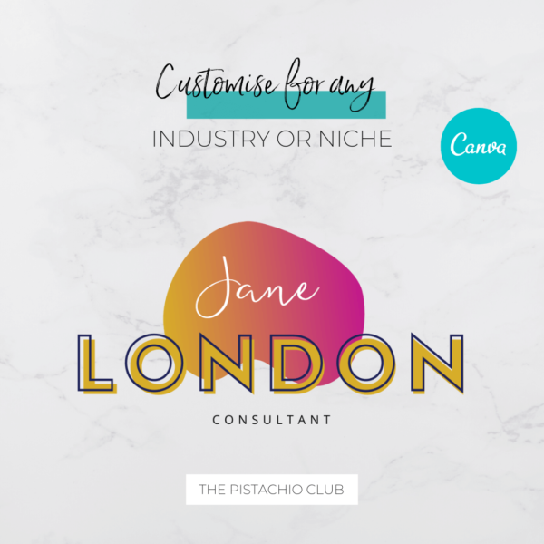 Jane London Main Logo Pre designed Branding TPC 3