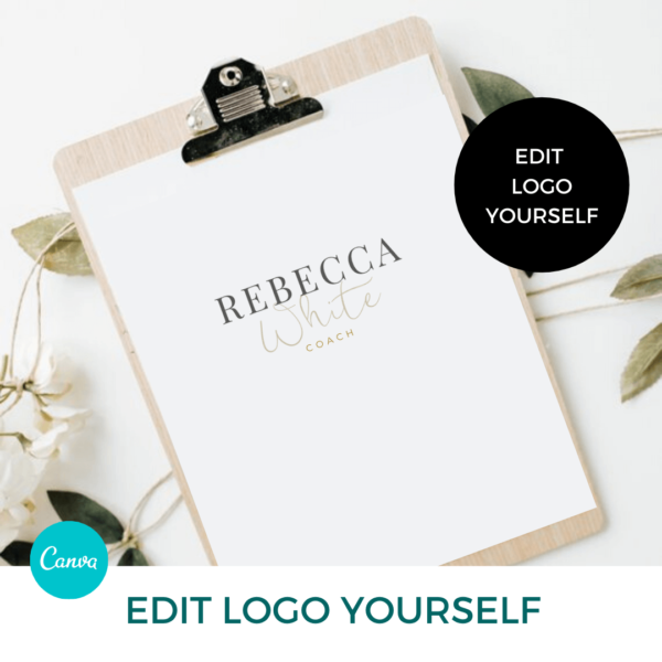 Rebecca White Logo Set Pre designed Branding TPC 2